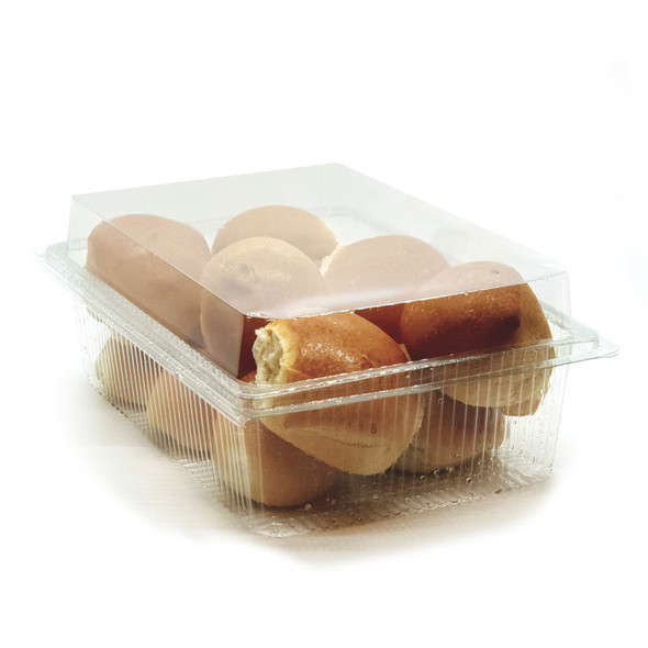 GPI Traitipack [X105H80] Clear Hinged Container - SHOPLER