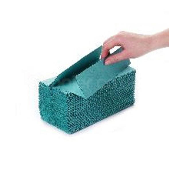 Green C-fold Hand Towel 1ply [31x23cm] - SHOPLER