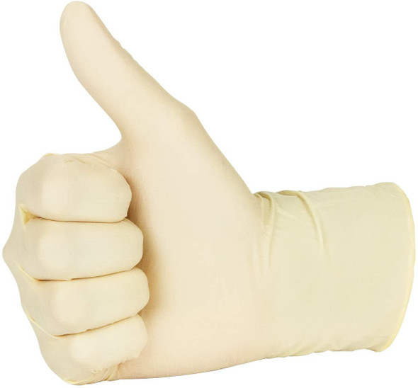 Latex Gloves [Large] Powder Free - SHOPLER