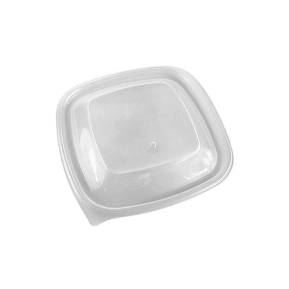 Lids for Somoplast 780 Square Black Microwavable Container - SHOPLER