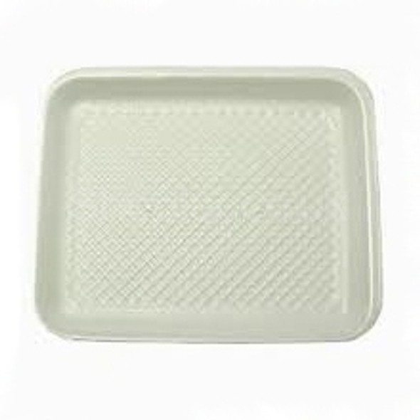 Linpac [2M] Polystyrene White Tray - SHOPLER.CO.UK
