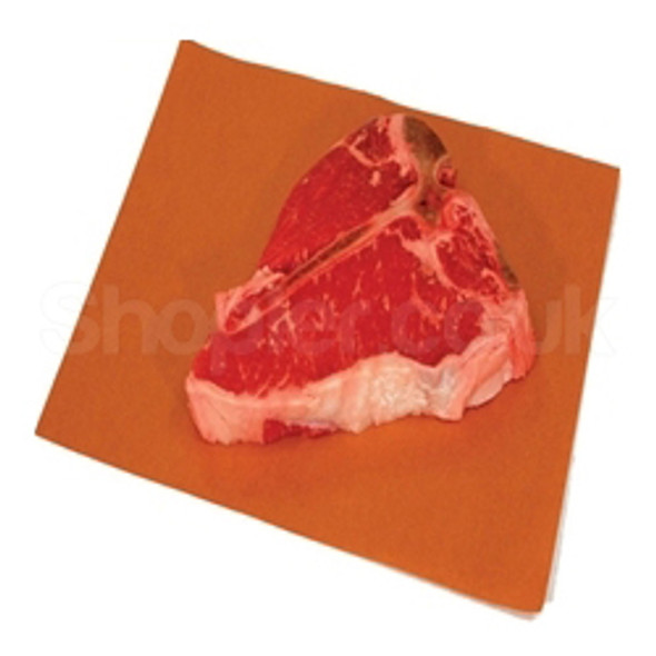 Meat Saver Paper Peach Paper 10x12 Inch - SHOPLER.CO.UK