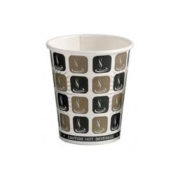 Dispo Mocha Paper Cup Hot [16oz] a pack of 1000 - SHOPLER