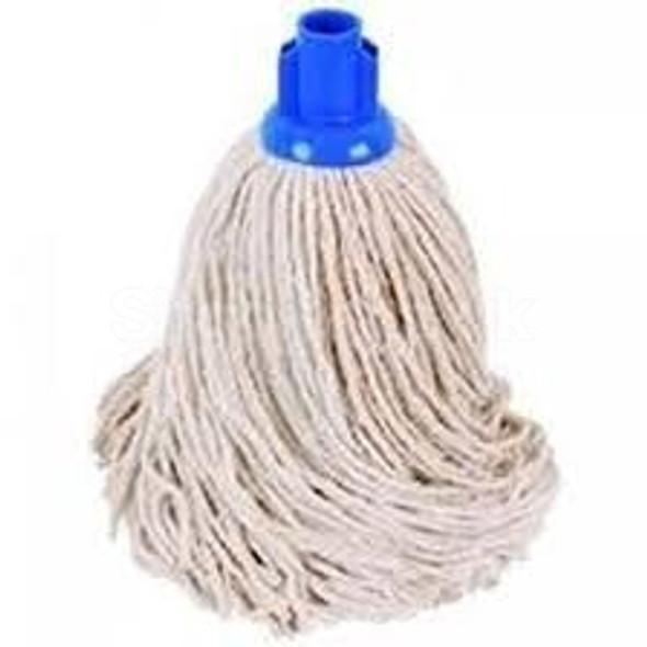 Mop Head Cotton Blue Socket No16 - SHOPLER.CO.UK