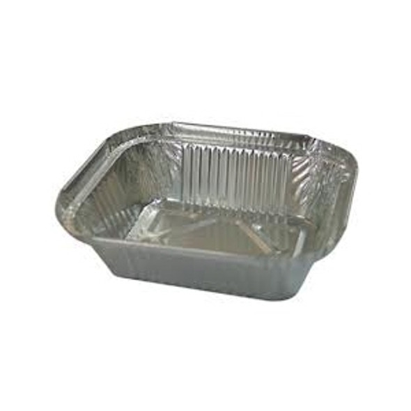 No1 Foil Container [95x120x35mm] a pack of 1000 - SHOPLER.CO.UK
