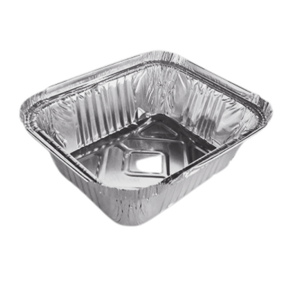 No.2 Aluminum Takeaway Foil Container - SHOPLER
