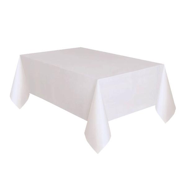 Dispo Paper Table Cover White - SHOPLER
