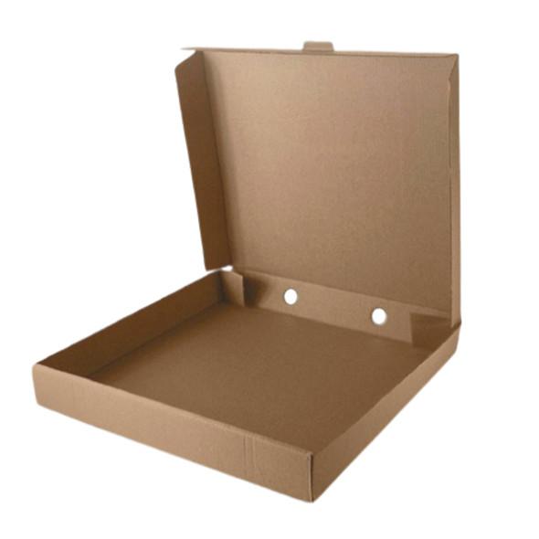 "Pizza Box Brown Plain 10"" - SHOPLER"