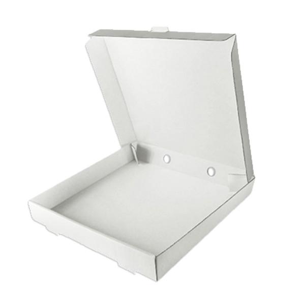 Pizza Box White 10 inch- SHOPLER.CO.UK
