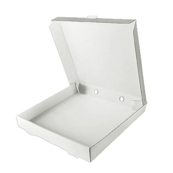 Pizza Box White 10 inch- SHOPLER
