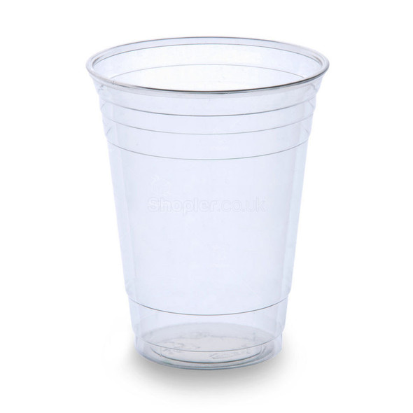 Dart Plastic Cup Clear [9oz] a pack of 1000 - SHOPLER.CO.UK