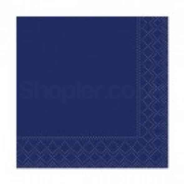Poppies Napkin Midnight Blue 2ply [33x33cm] - SHOPLER