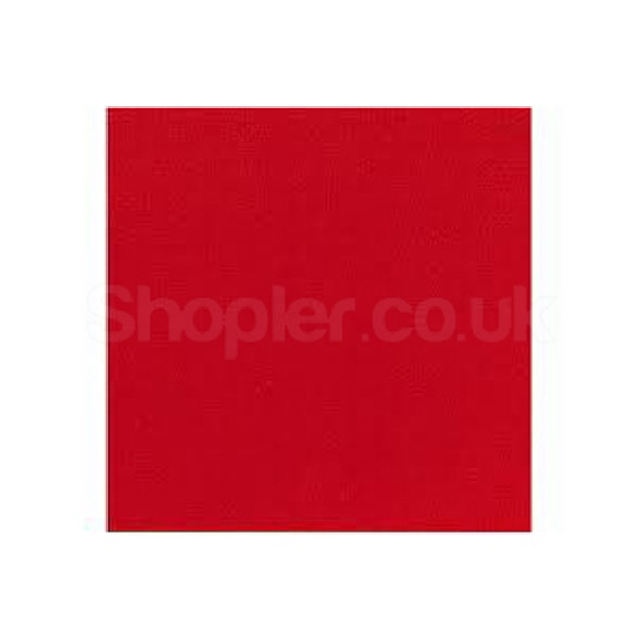 Poppies Napkin Red 2ply 40x40 a pack of 2000 - SHOPLER.CO.UK