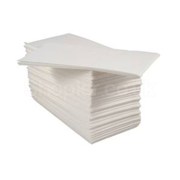 Poppies Napkin White 8-fold 2ply [40x40cm] - SHOPLER.CO.UK