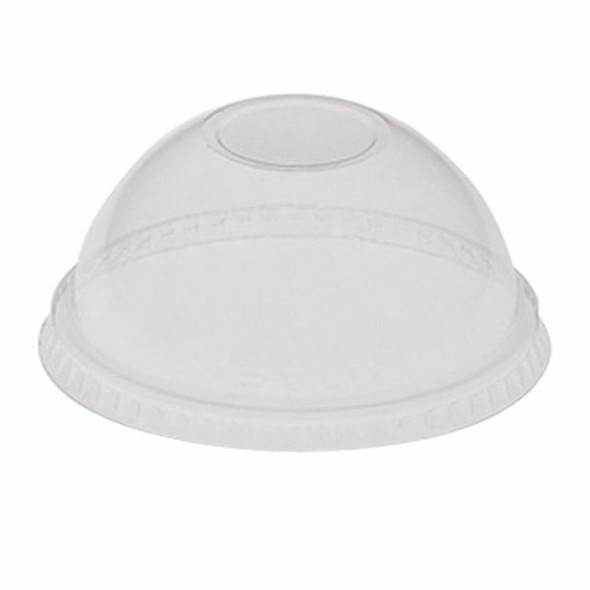 Solo DLR 640(DL140) Plastic Lid Dome Clear - 12oz - SHOPLER