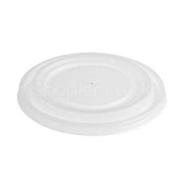 Solo [PLR-04] Plastic Lid White [4oz] - SHOPLER