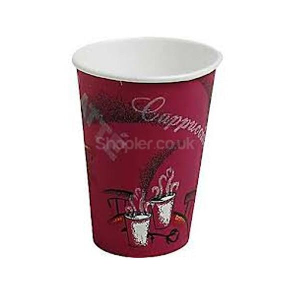 Solo Bistro 8oz Paper Cup Hot 237ml - SHOPLER