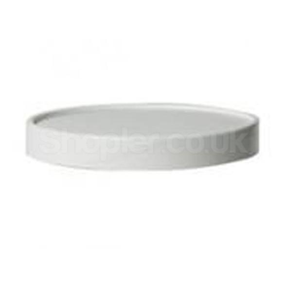 Solo White [CH8A] Paperboard Lid [8oz & 12oz] - SHOPLER