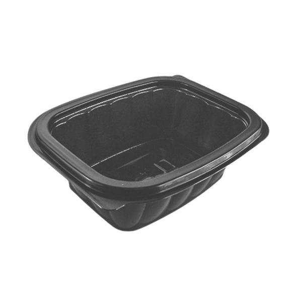 Somoplast [739] Black Microwave Container 375cc - SHOPLER.CO.UK