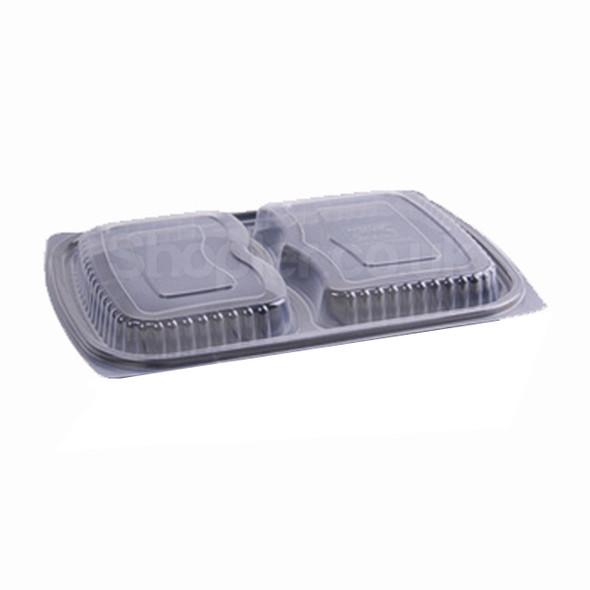 SHOPLER - Somoplast 827L Clear 2comp Microwavable Lid