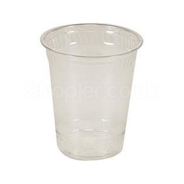 Somoplast [HoLiday] Plastic Clear Water Cups [7oz] - SHOPLER