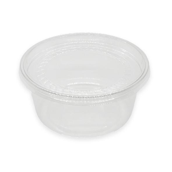 Somoplast Clear Deli Container 250 ml 8oz Just Base - SHOPLER