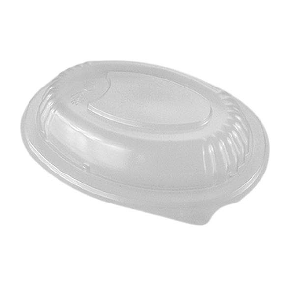Somoplast Lid for 755&754 Oval Black Microwave Continer - SHOPLER