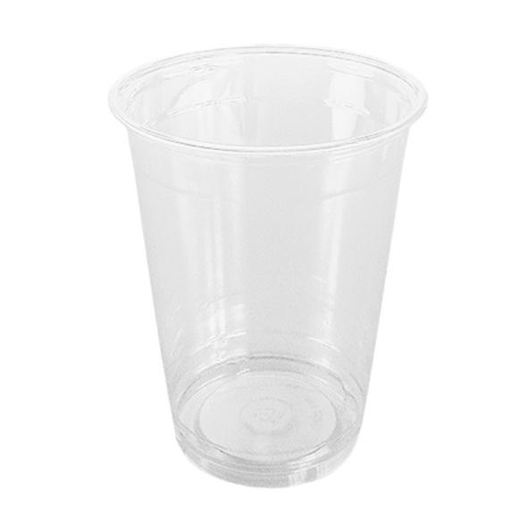 Somoplast Plastic Clear Cups [16oz] 500ml - SHOPLER.CO.UK
