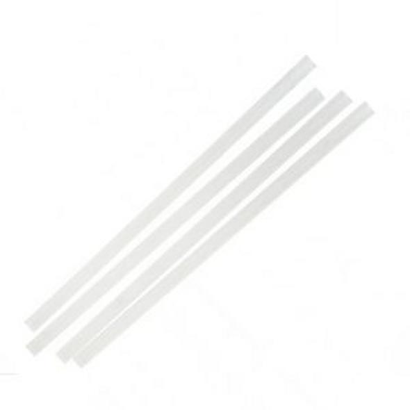White Straight Paper Straws  - SHOPLER