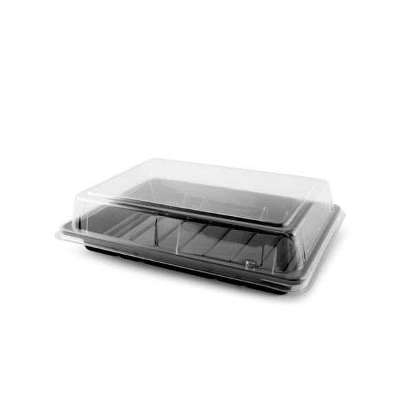 Sushi Container QA-01 Base & Lid - SHOPLER