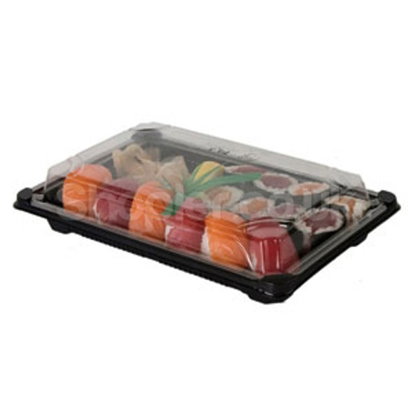 Sushi Platter and Lids, Sushi Container YP103 - SHOPLER.CO.UK