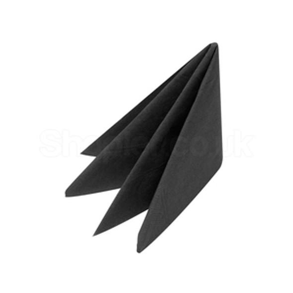 Swantex Napkin Black 3ply [40x40cm] - SHOPLER