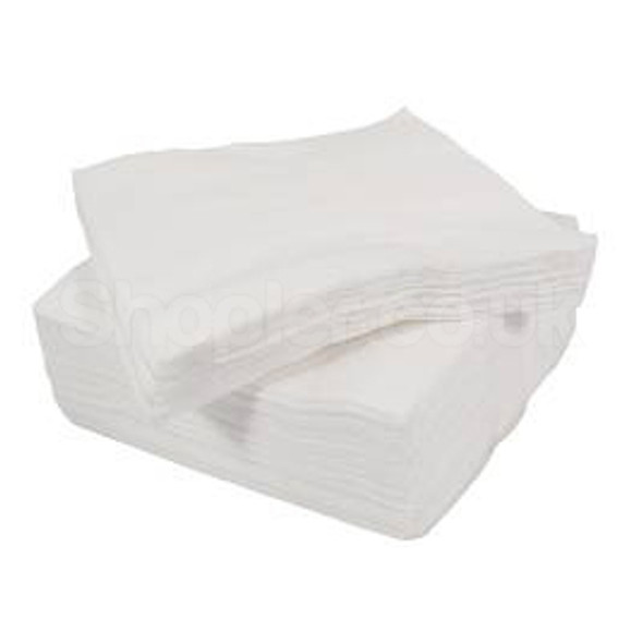 Swantex Napkin White 2ply [25x25cm] a pack of 200 - SHOPLER.CO.UK