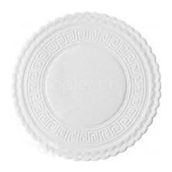 Swantex Plain White Coasters 80mm - SHOPLER