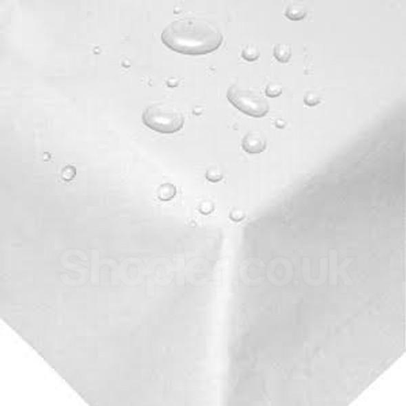 Swantex Swansilk Paper Table Cover White [90x90cm] - SHOPLER
