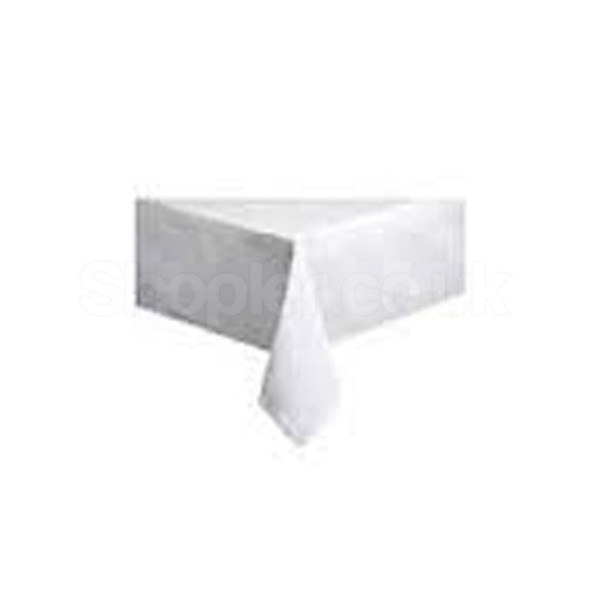 Lotus table cover white 90x90 cm a pack of 250 - SHOPLER