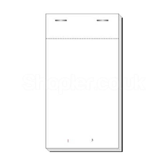 Waiter Pad [15] Duplicate Carbon 78x113mm - SHOPLER.CO.UK
