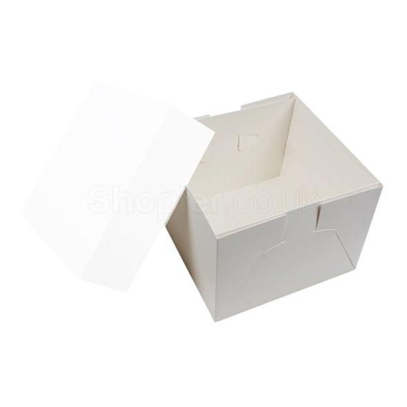 Wedding Cake Box Base [8x8x6Inch], Cake Box 8x8x6 - SHOPLER.CO.UK