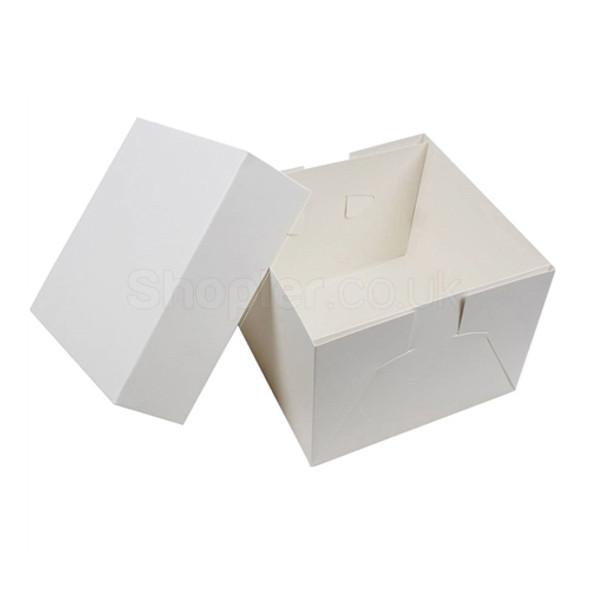 Wedding Cake box 20x20x6 Inch Base & Lid - SHOPLER