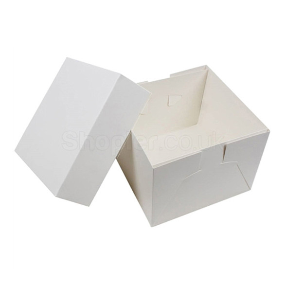 Wedding Cake Box 24x24x6 Inch Base & Lid - SHOPLER