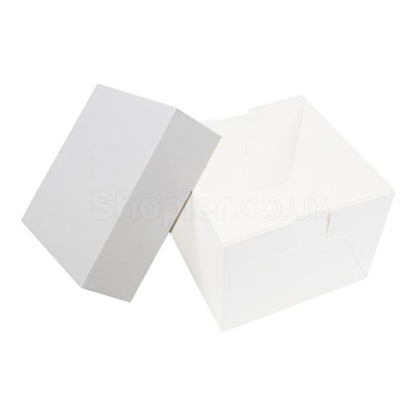 Wedding Cake Box Lid [8x8x2.5Inch] - SHOPLER.CO.UK