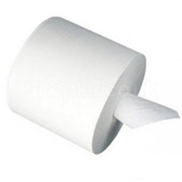 White C-feed Hand Towel 2ply [135 to 150m] 60mm - SHOPLER.CO.UK