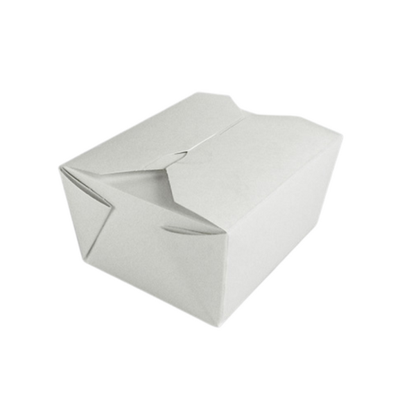 White Leakproof Container No 1 - SHOPLER