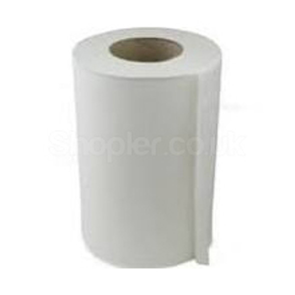 White Mini C-feed Hand Towel 2ply [65m] - SHOPLER.CO.UK