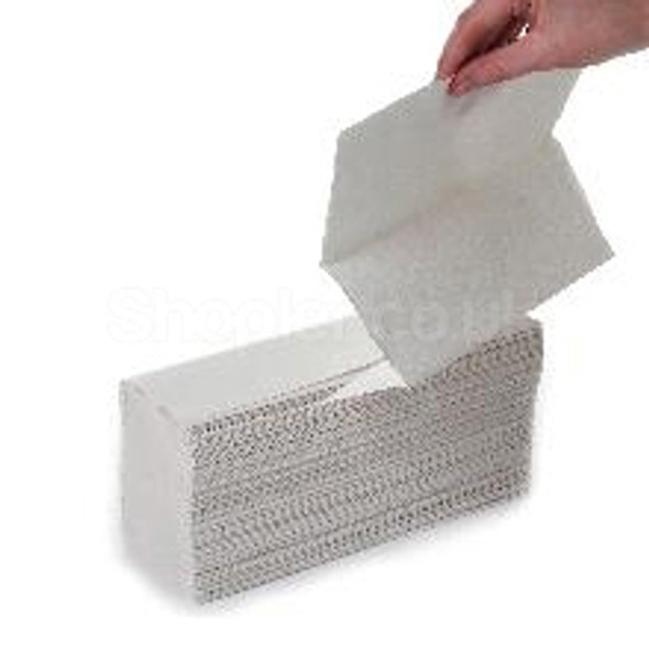White Multi-Fold Hand Towels 2ply 3000 pack - SHOPLER