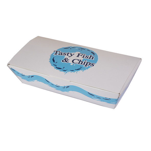 Extra large Tasty Fish & Chips Box - SHOPLER