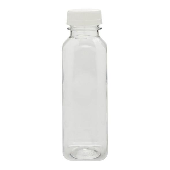 Juice Bottle 1 Litre White & Caps - SHOPLER