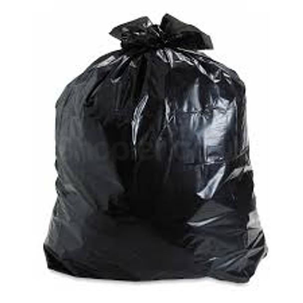 Black Refuse Bag [20x34x39Inch] 160G a pack of 100 - SHOPLER
