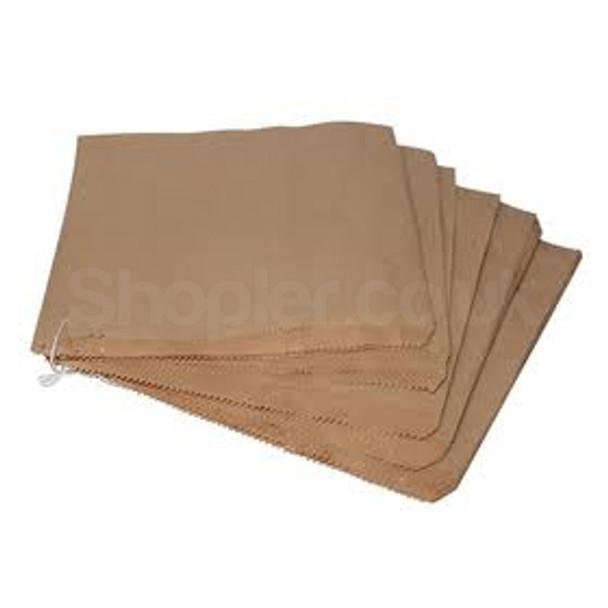 Brown Kraft Paper Bag [10x10Inch] Strung, - SHOPLER.CO.UK