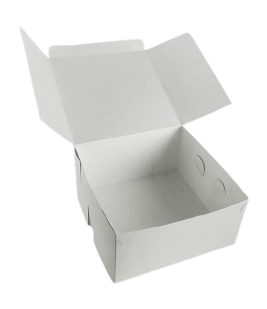 Cake Box [8x8x4Inch] a pack of 100 - SHOPLER